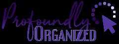 Profoundly Organized Logo